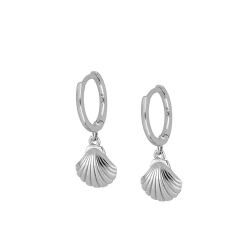 Pendientes Shell Silver