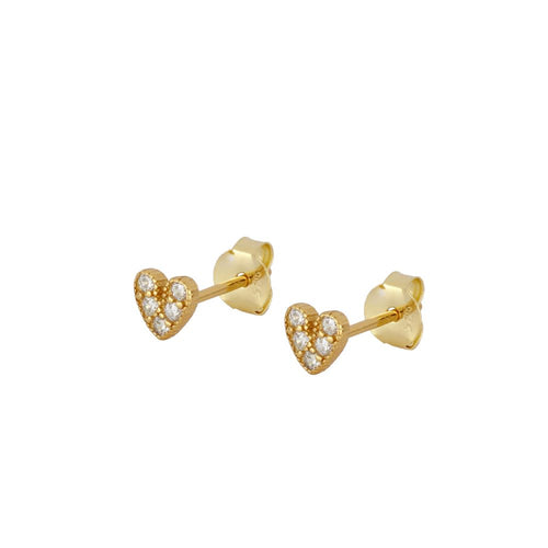 Shine Love Gold Earrings