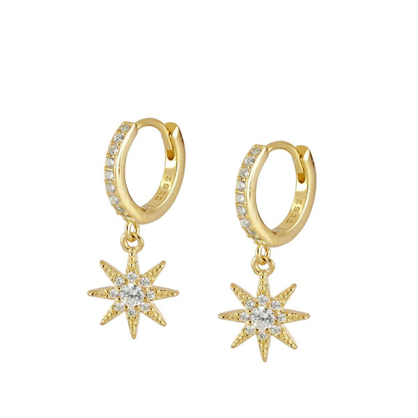 Pendientes Pretty Star Gold