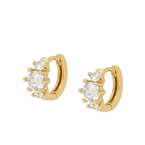 Clau Gold Earrings