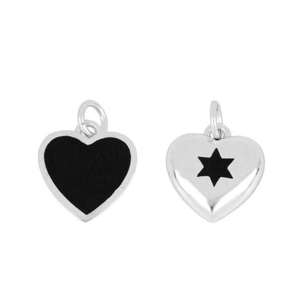 Charm Double Amour Silver