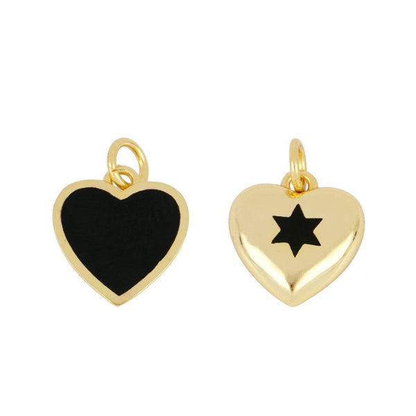 Charm Double Amour Gold