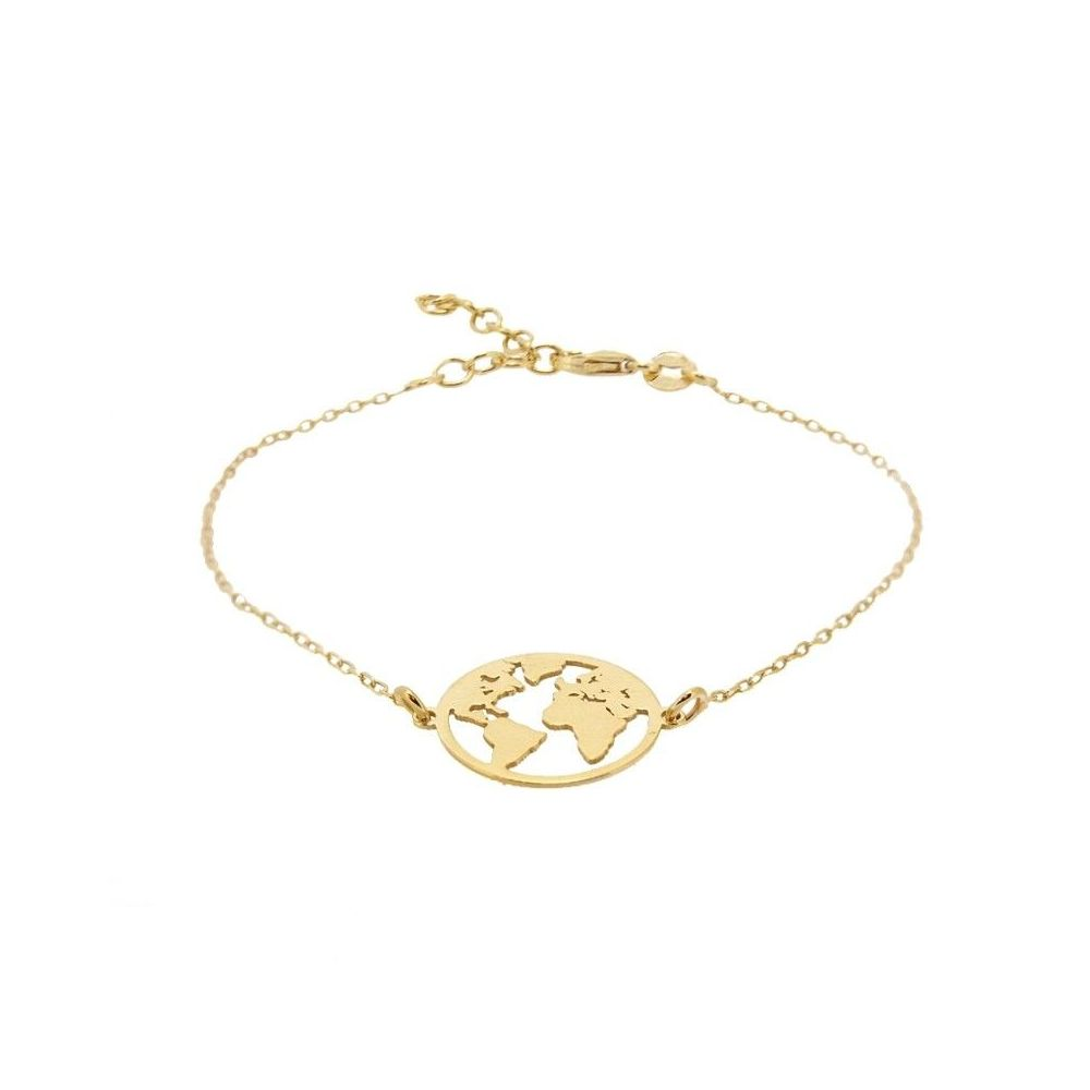 Pulsera World Gold