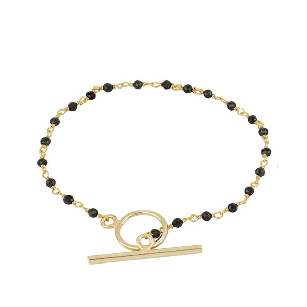 Pulsera  Zoe Black Gold