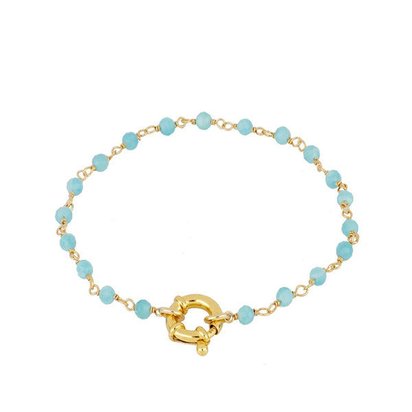 Pulsera Odin Blue Gold