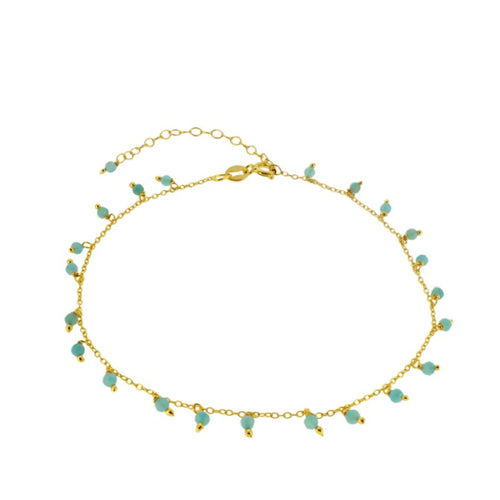 Amazon Gold Anklet