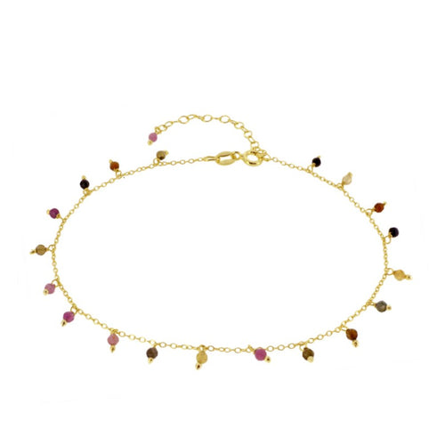Amazonas Color Gold Anklet