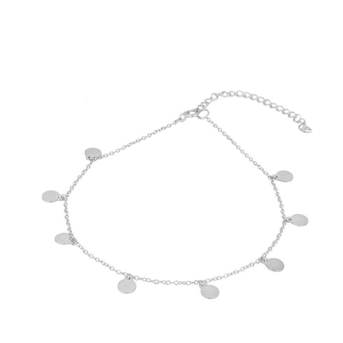 Rouss Silver Anklet