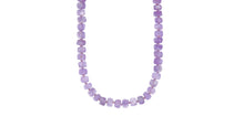 Load image into Gallery viewer, GYPSET LAVENDER AMETHYST RONDELLE NECKLACE - HARRIS ZHU