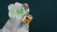 Load image into Gallery viewer, JOHANNA JADE CITRINE DIAMOND DOUBLE RING - HARRIS ZHU
