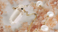 Load image into Gallery viewer, ARIZONA PEARL CRYSTAL QUARTZ PEARL NECKLACE - HARRIS ZHU