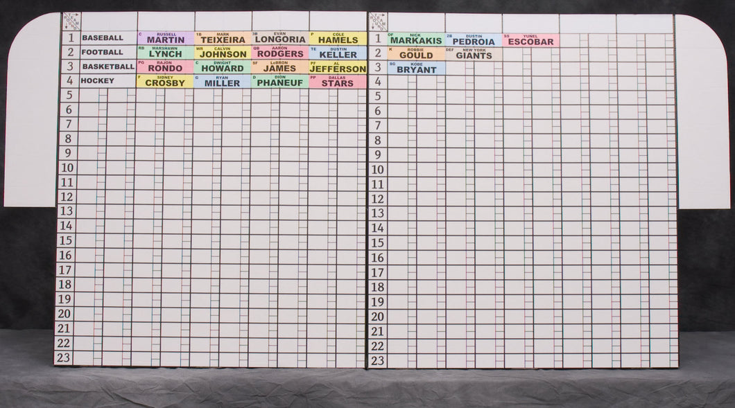 photo about Printable Fantasy Football Draft Board identify Myth Soccer: Forums + Labels