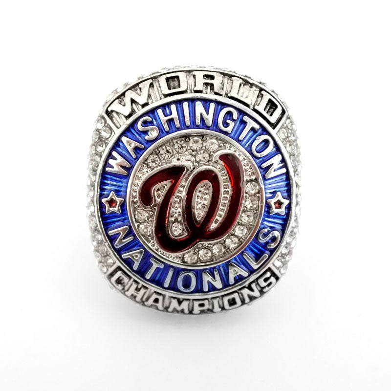 2019 Baseball Washington Nationals World Professional Baseball Championship Ring
