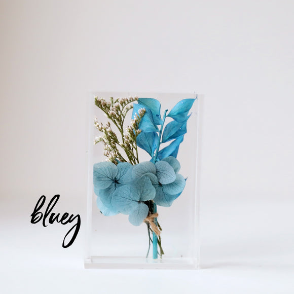 Bluey Baby Dried Flower Box