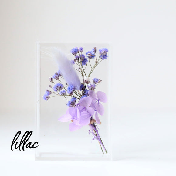 Plum Baby Dried Flower Box
