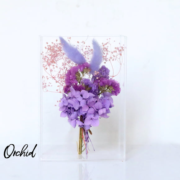 Orchird Dried Flower Box