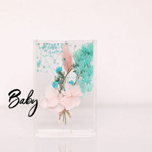 Baby Baby Dried Flower Box