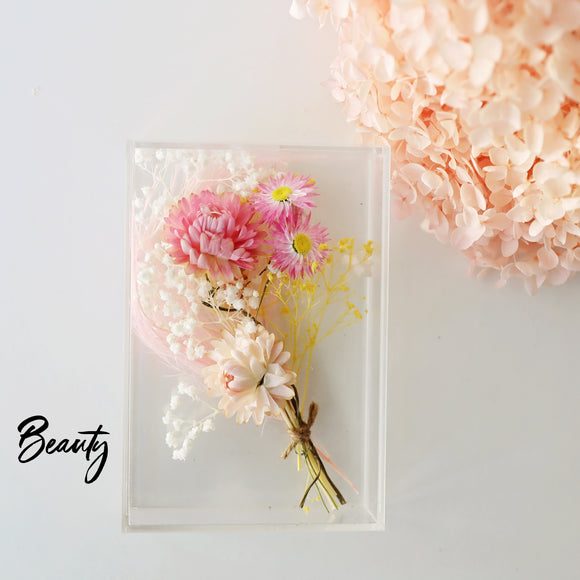 Beauty Dried Flower Box