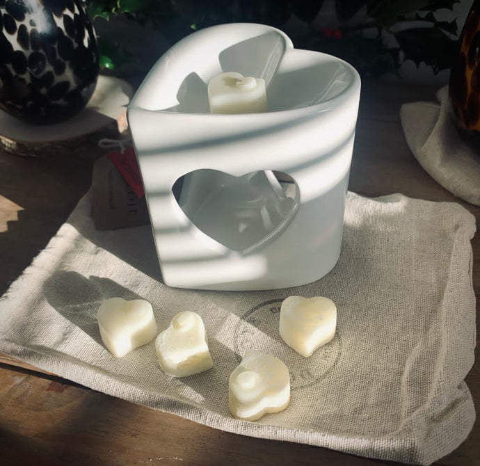 Heart Cut Out Wax Melt Burner