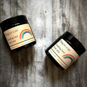 Hug in a jar (Rainbow)