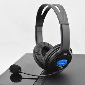 Black Headset Wired for Sony