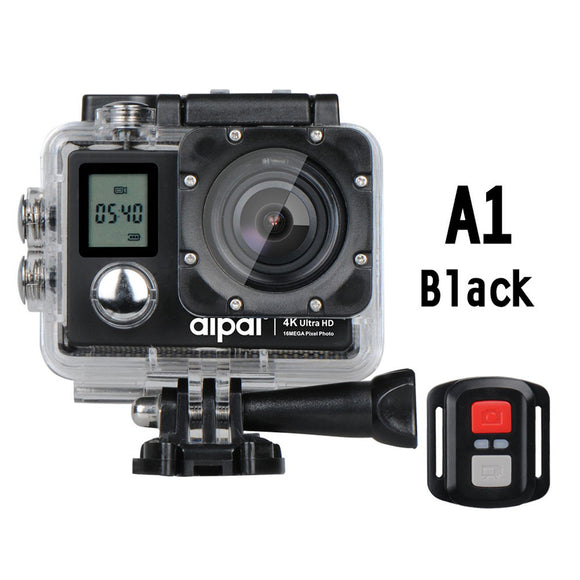 Aipal Sports DV High Performance Camcorder Photography Sports Camera Action Camera Double Screen 170 Degree Video Recorder