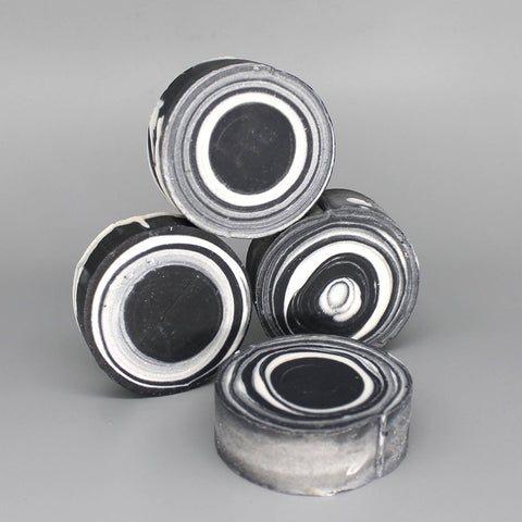 Come as You Are Activated Charcoal Circle Soap