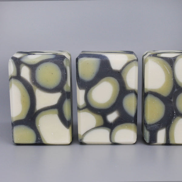 Terrapin- Activated Charcoal, Babassu Oil, & Shea Butter Soap