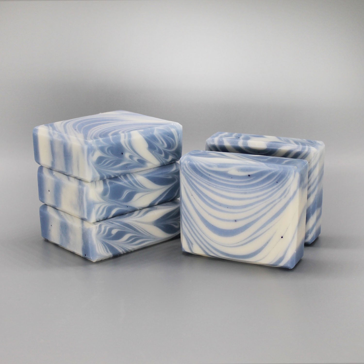 She's a Waterfall- Babassu Oil and Japanese Indigo Soap