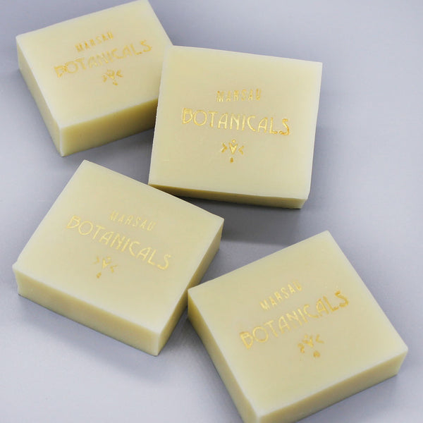 Nude as the News- Grapefruit & Rosemary Jojoba Shampoo Bar