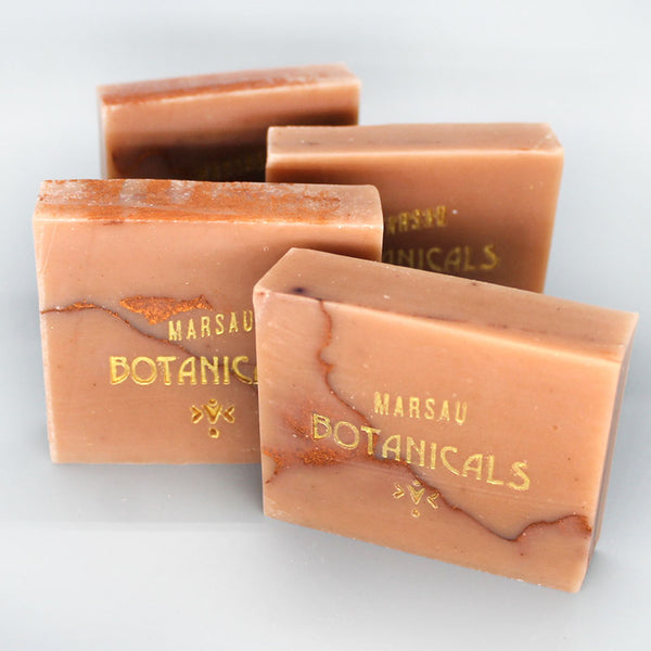Champagne Coast- French Pink Clay, Grapefruit & Gardenia Soap