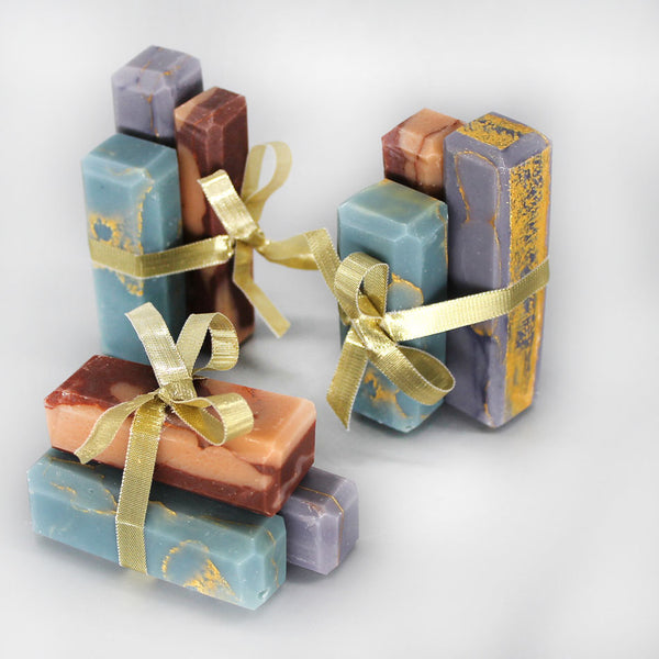 Rock Candy- Marbled Shea Butter Soap Sets