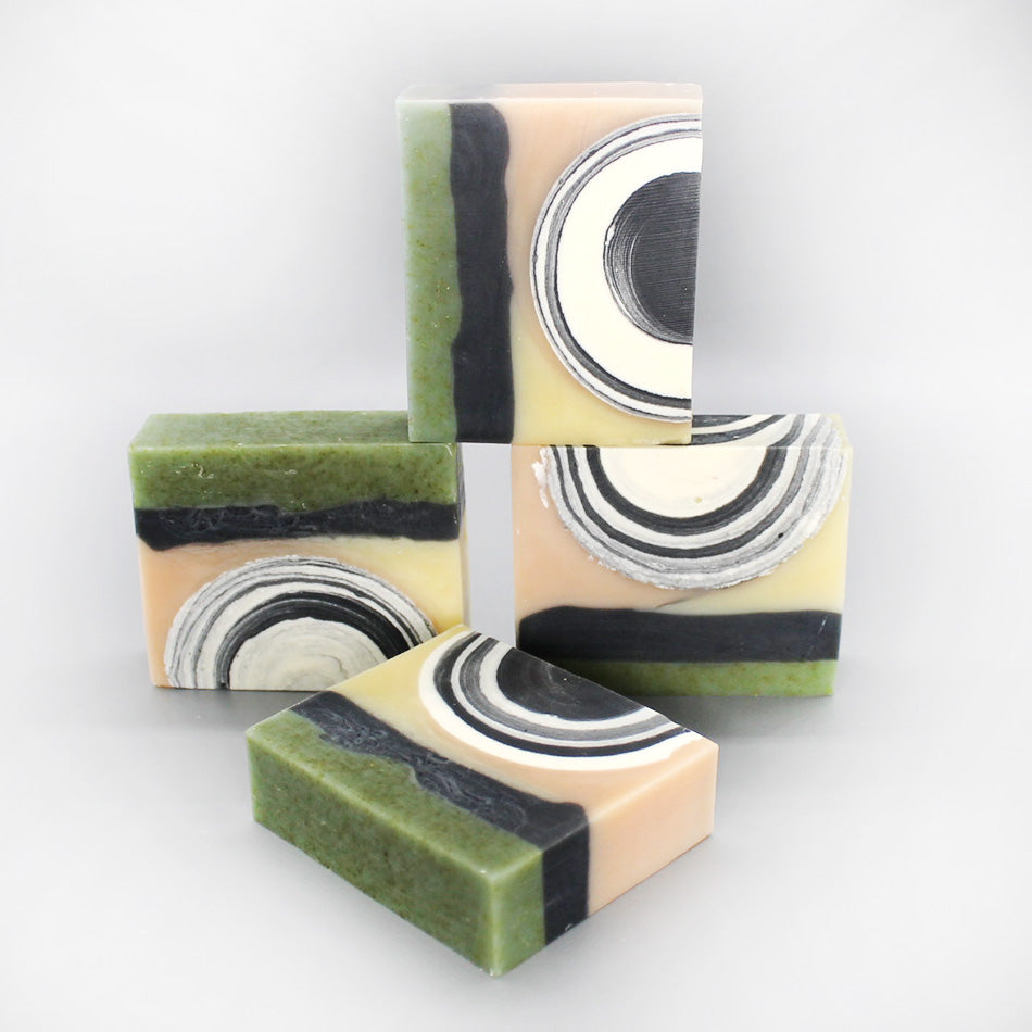 Sugar Shack 1- Ylang Ylang, Rose, and Eucalyptus Soap