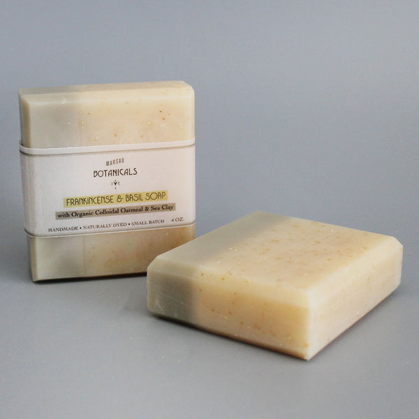 Colloidal Oatmeal & Dead Sea Clay Soap