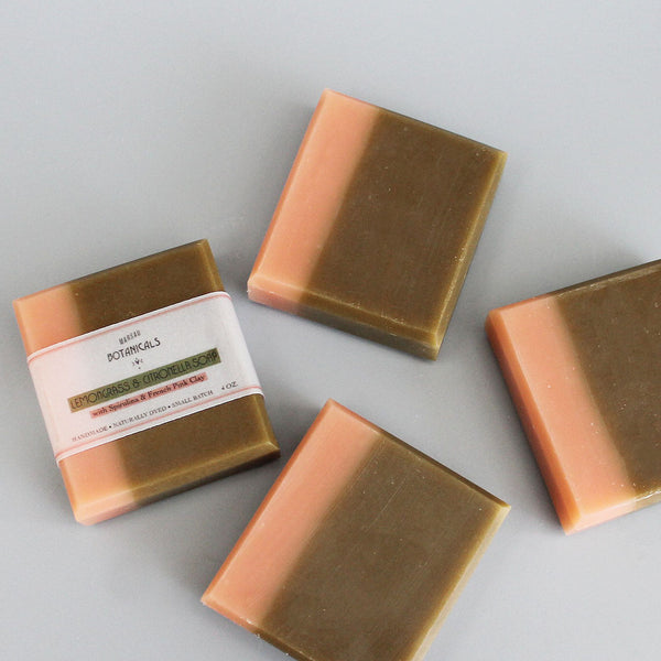 Spirulina & French Pink Clay Soap