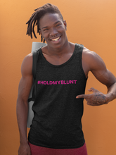 "Load image into Gallery viewer, *PREORDER* ""Hold My Blunt"" Solidarity Tank Tops (Unisex)"