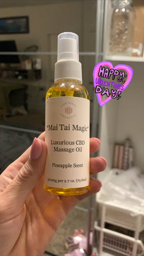Full Size Mai Tai Magic Massage Oil (2.70z) 300mg