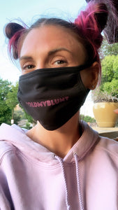 """Hold My Blunt"" Solidarity Face Mask (Cloth)"