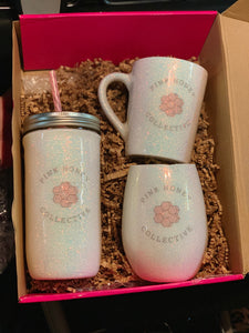 Pink Honey Customized Glassware Set By Shop La Rouge