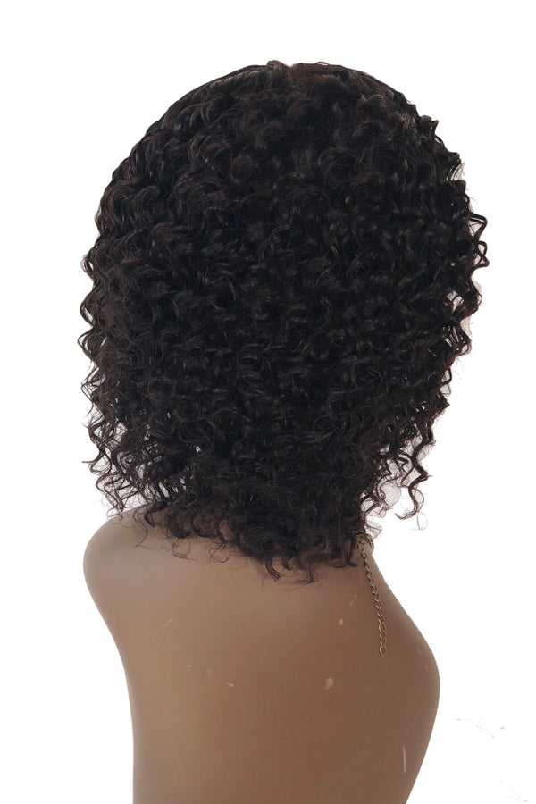 Deep Curly Frontal Bob / IS
