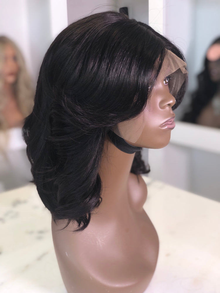 "Curled 14"" Bob Frontal Unit"