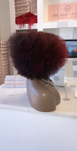 Two tone Red Blown Out Afro- ISRTS