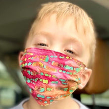 Load image into Gallery viewer, Kids Cotton Face Mask
