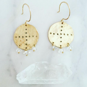 Navone Clear Earrings