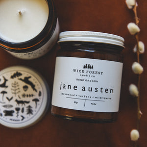 Wick Forest Jane Austen Candle