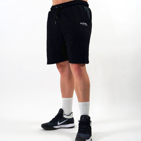 Black Loose Fit Shorts