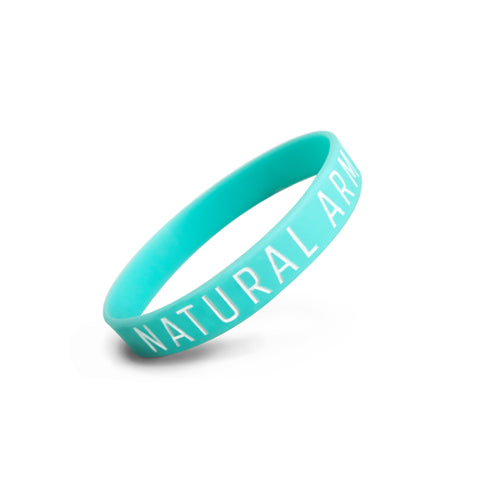 Blue Natural Army Wristband