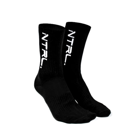 Black NTRL. Crew Socks