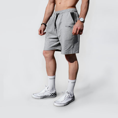 Grey Loose Fit Shorts