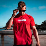 Fresh Red Vintage Logo T-shirt